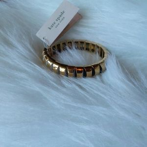 Kate Spade Sliced Scallops Stretch Bracelet NEW